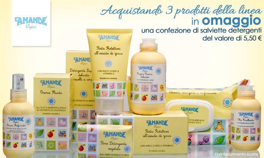 I prodotti L Amande Enfant