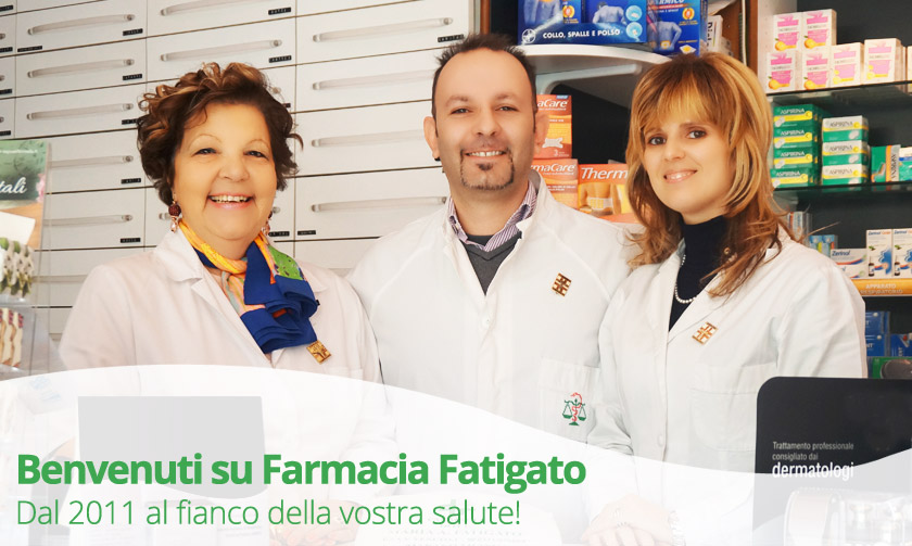 Lo staff di Farmacia Fatigato