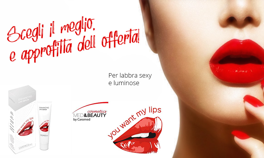 You Want My Lips in farmacia