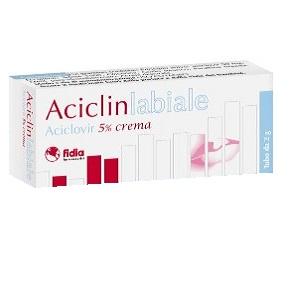 ACICLINLABIALE CREMA 2 gr  5%