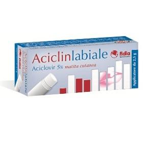 ACICLINLABIALE MATITA CUTANEA 2,5 gr 5%