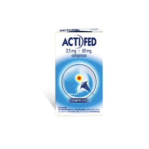 ACTIFED 12 COMPRESSE 2,5 mg + 60 mg