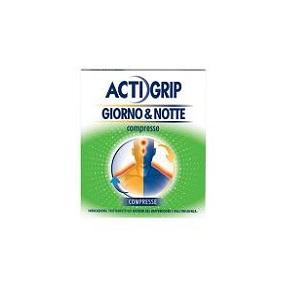 ACTIGRIP GIORNO&NOTTE 12 + 4 COMPRESSE