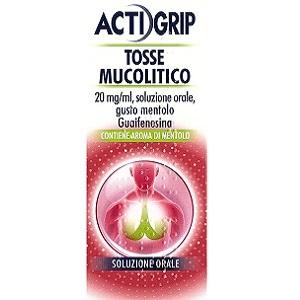 ACTIGRIP TOSSE MUCOLITICO 150 ml