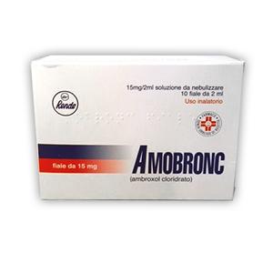 AMOBRONC AEROSOL 10 Flaconcini 2 ml 15 mg