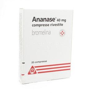 ANANASE 20 COMPRESSE RIVESTITE 40 mg