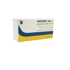 ARVENUM 60 COMPRESSE RIVESTITE 500 mg