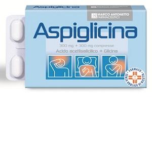 ASPIGLICINA 24 COMPRESSE 300 mg + 300 mg