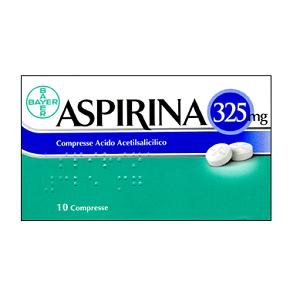 ASPIRINA 10 COMPRESSE 325 mg
