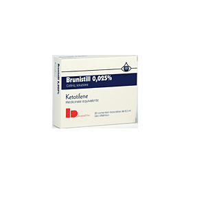 BRUNISTILL COLLIRIO 20 FLACONCINI 0,5 ml 0,025