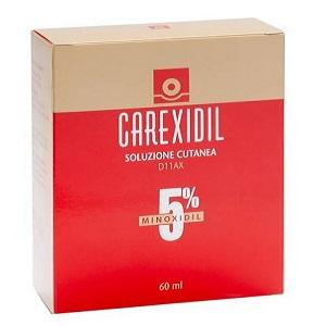 CAREXIDIL SOLUZIONE 60 ml 5%