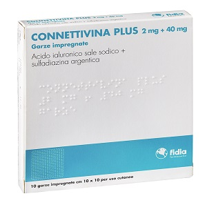 CONNETTIVINA PLUS 10 GARZE 10x10