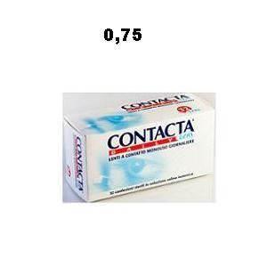 CONTACTA LENS DAILY -0,75 32PZ