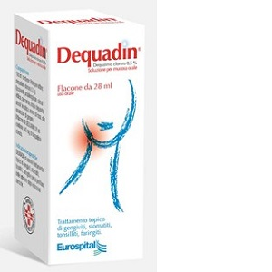 DEQUADIN SOLUZIONE MUCOSA ORALE 28 ml