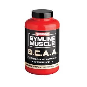 GYM LINE BCAA 95% 300CPS
