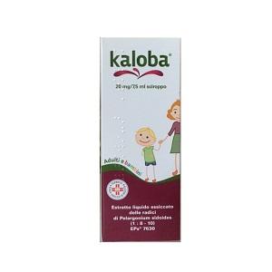 KALOBA SCIROPPO FLACONE 100ml 20 mg - 7,5 ml