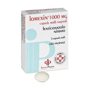 LOMEXIN 2 CAPSULE MOLLI VAGINALI 1000 mg