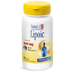 LONGLIFE LIPOIC 300 mg