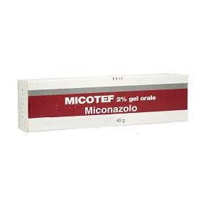 MICOTEF GEL ORALE 40 gr 2%