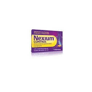 NEXIUM CONTROL 7 COMPRESSE GASTRORESISTENTI 20 mg