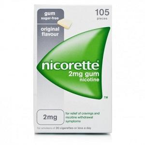 NICORETTE 105 GOMME MASTICABILI 2 mg Senza Zucchero