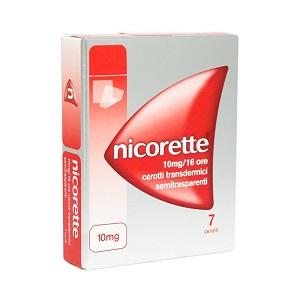 NICORETTE 7 CEROTTI TRANSDERMICI 10 mg