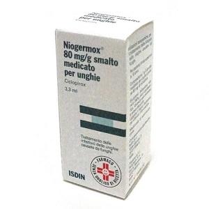 NIOGERMOX SMALTO UNGHIE 3,3 ml