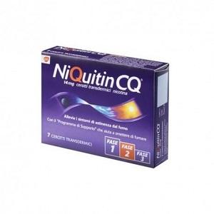 NIQUITIN 7 CEROTTI TRANSDERMICI 14 mg