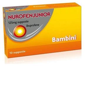NUROFENJUNIOR 10 SUPPOSTE 125 mg