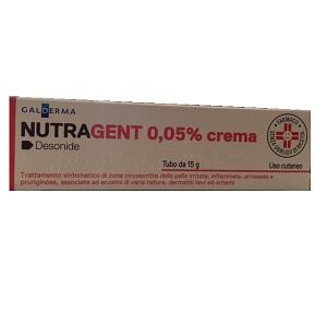 NUTRAGENT CREMA 15 gr  0,05 g - 100 gr