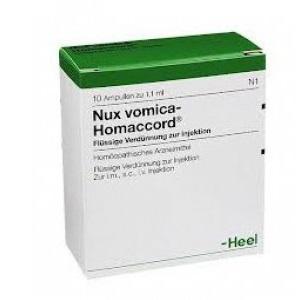 NUX VOMICA HOMACCORD 10 Fiale
