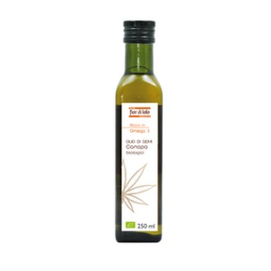 OLIO SEMI CANAPA BIO 250 ml