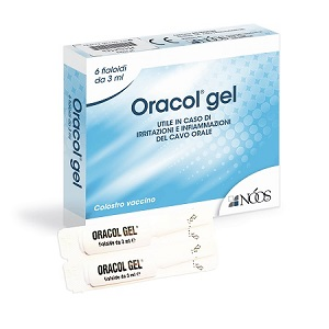 ORACOL GEL 6 Fiale 3 ml