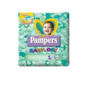 PAMPERS BABY DRY Mini 3-6KG