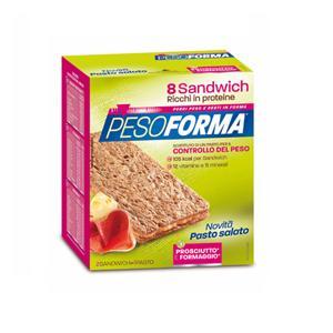 PesoForma Sandwich Prosciutto Formaggio