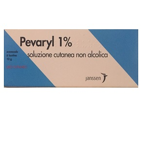 PEVARYL SOLUZIONE CUTANEA 6 BUSTE 10 gr 1%