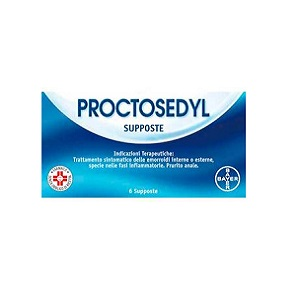 PROCTOSEDYL 6 SUPPOSTE