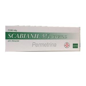 SCABIANIL CREMA 60 gr  5%
