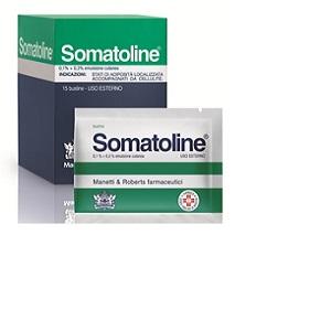SOMATOLINE EMULSIONE 15 BUSTE 0,1 + 0,3%