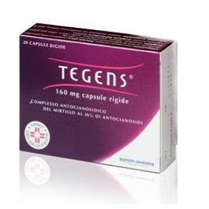 TEGENS GRANULATO 20 BUSTE 160 mg