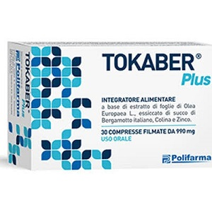 TOKABER PLUS 30 COMPRESSE