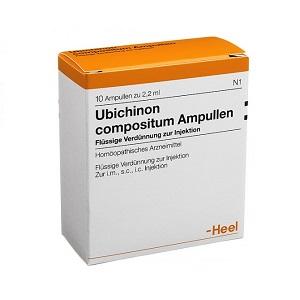 UBICHINON COMPOSITUM HEEL 10 Fiale