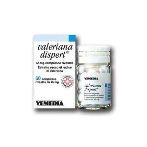 VALERIANA DISPERT 60 COMPRESSE RIVESTITE 45 mg