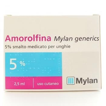 AMOROLFINA MYLAN SMALTO 2,5 ml 5%