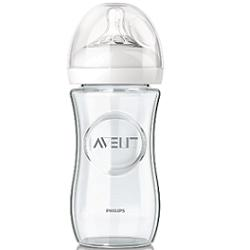 AVENT BIBERON NATURAL VETRO 240ML