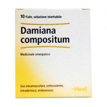 DAMIANA COMP 10 FIALE 2,2 ML HEEL
