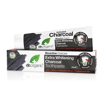 DR ORGANIC CHARCOAL TOOTHPASTE SBIANCANTE