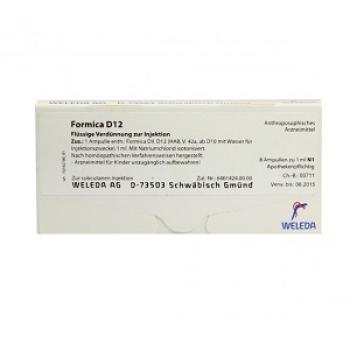 FORMICA D12 8 FIALE 1ML
