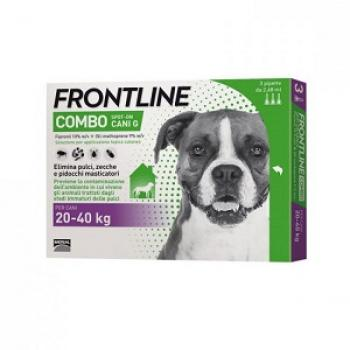 FRONTLINE COMBO SPOT ON 3 Pipette 2,68 ml Cani 20-40 Kg