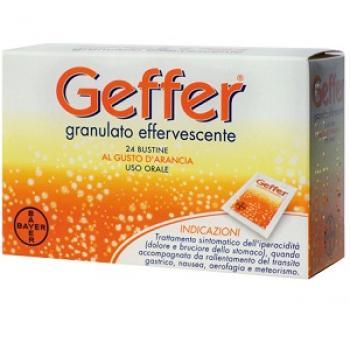 GEFFER GRANULATO EFFERVESCENTE 24 BUSTE 5 gr